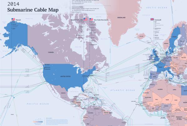 10 Малоизвестных фактов о подводных интернет-кабелях