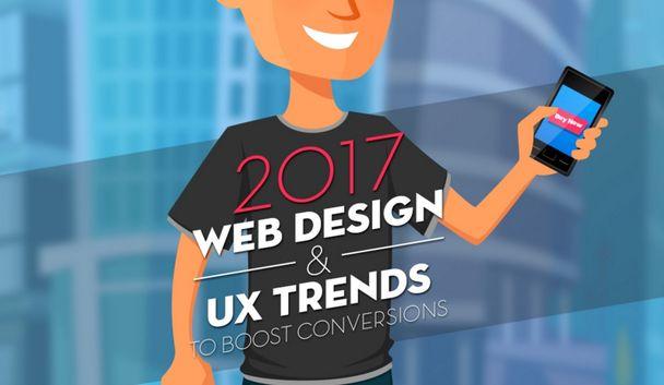 10 Трендов веб-дизайна и ux, которые увеличат вашу конверсию в 2017