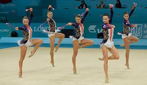 5 Украинок стали лучшими в мире по гимнастике