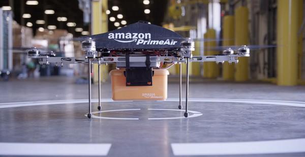 Будущее интернет-маркетинга — дроны amazon