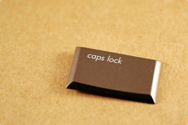 Caps lock как источник разочарований