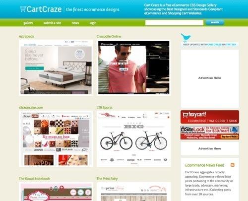Дизайн интернет-магазина: 8 галерей