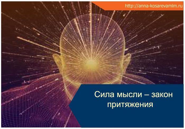 Достижение успеха и закон притяжения мысли