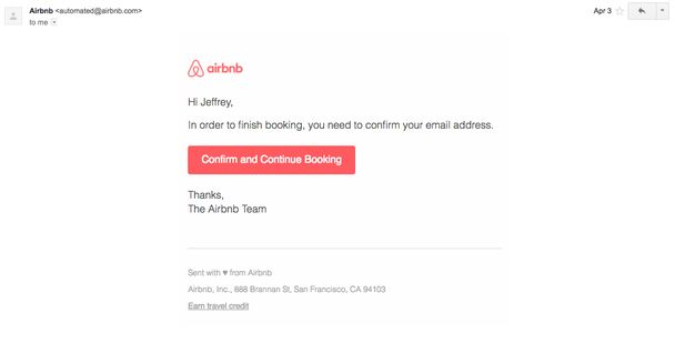 Email marketing: airbnb против homeaway