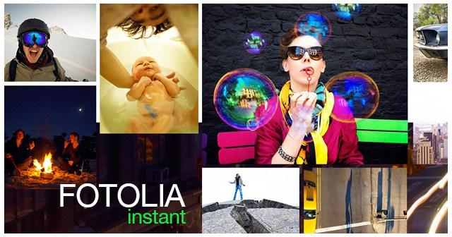 Fotolia запускает новую коллекцию и мобильное приложение fotolia instant