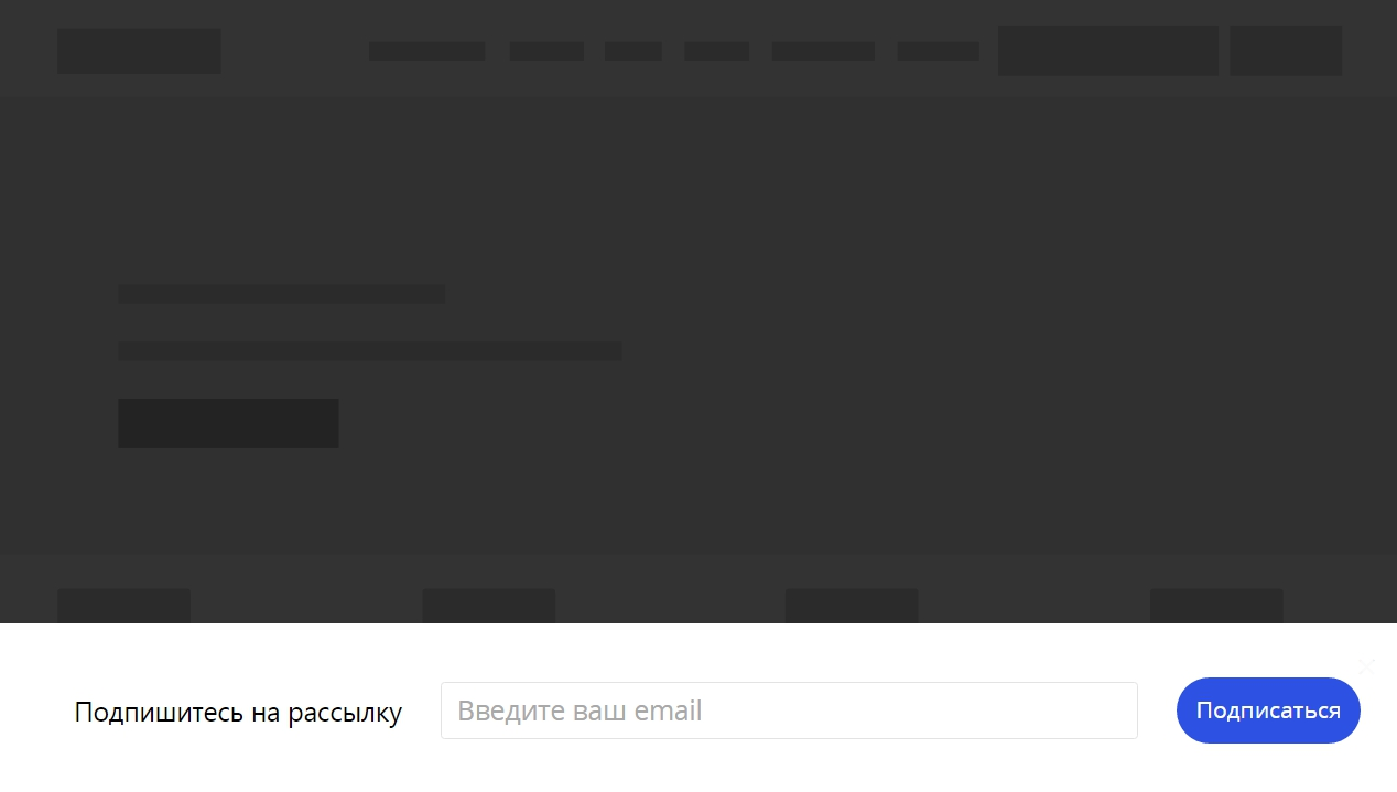 Гид по созданию формы подписки в интернет-магазине