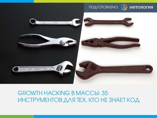 Growth hacking: 35 инструментов для тех, кто не знает код