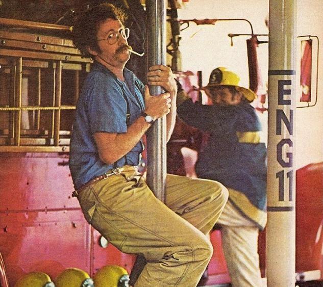 История изобретения пожарного шеста