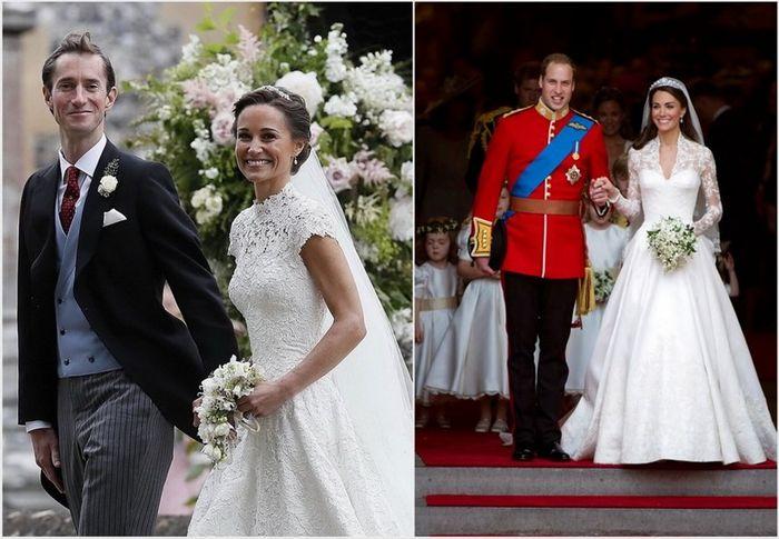 Королевская свадьба: сравнение церемоний пиппы и кейт миддлтон