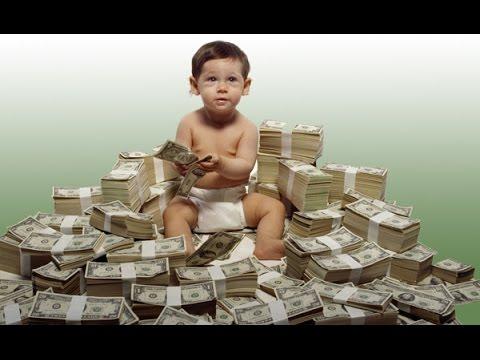 Опубликован рейтинг самых богатых детей россии