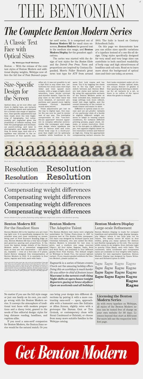 Основы адаптивной веб-типографики