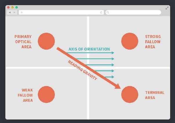 Проектирование экранов сайта по диаграмме гутенберга
