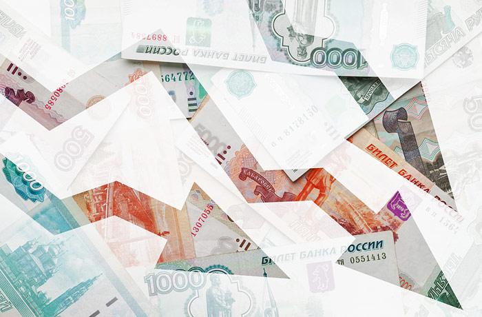 Средняя зарплата россиян упала почти на 10%